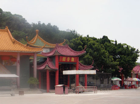 A little Guan Yin temple near Zhongshan, China