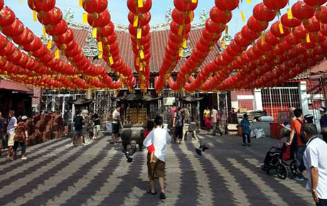 Malaysia - Goddess of Mercy Temple -Penang�s oldest Chinese temple